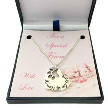 Always in My Heart, Pet Loss Necklace